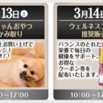 ニコペット久喜菖蒲店:3/13, 14開催の週末イベントご紹介